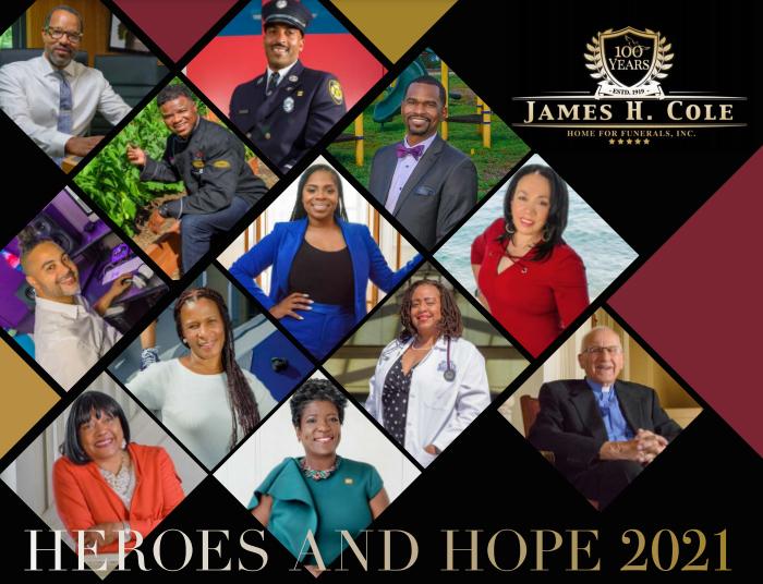 James Cole Heros & Hope 2021 Calendar