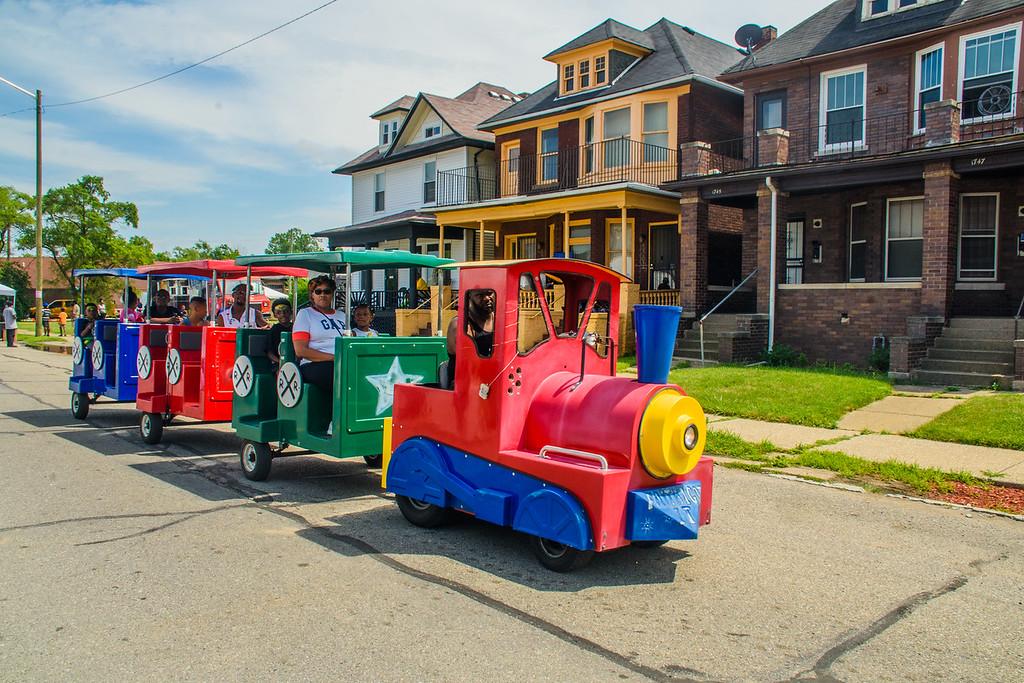 Centennial Block Party train ride